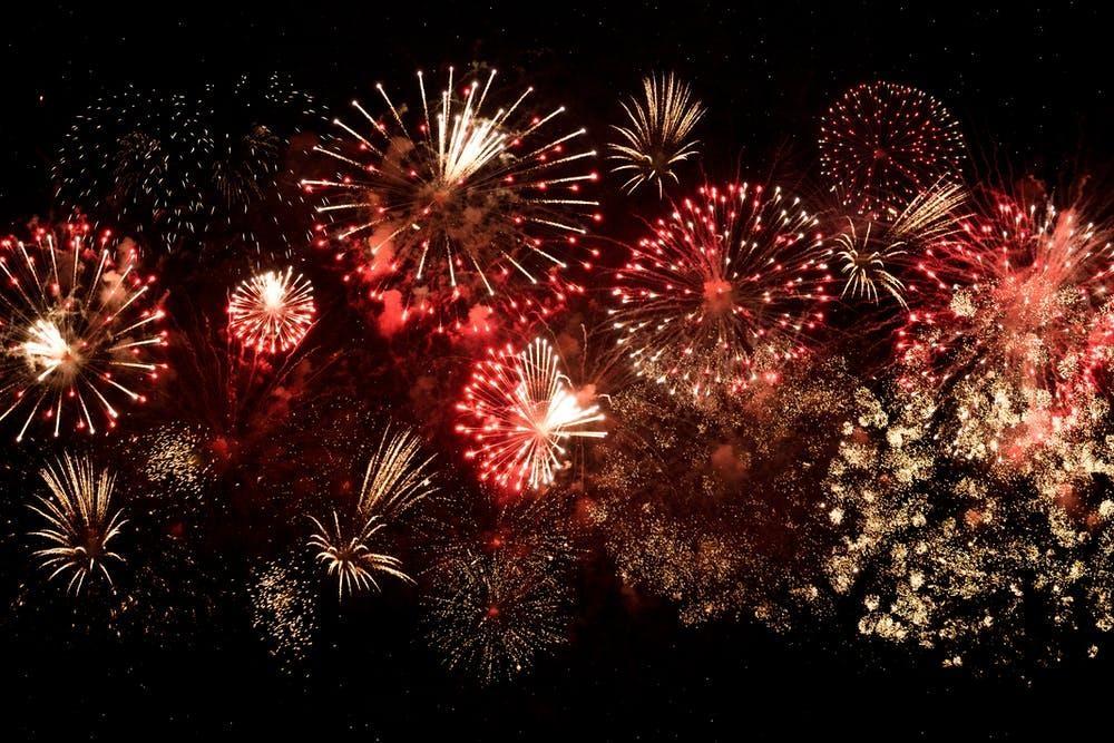 Fireworks Christmas 2020
