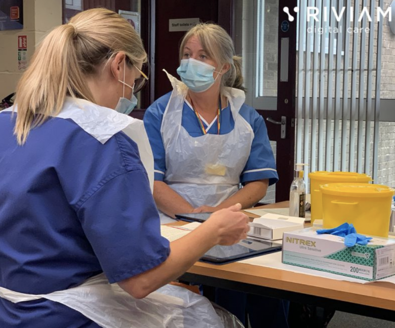 Enabling Covid-19 vaccinations in Care Homes and the community